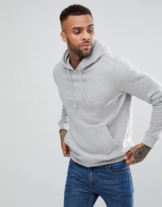Read more about Bravesoul basic overhead pocket hoody - grey