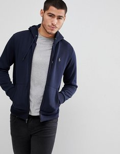 Read more about Polo ralph lauren zipthru hoodie polo player in navy - navy