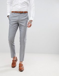 Read more about Harry brown tonal skinny fit suit trousers - grey