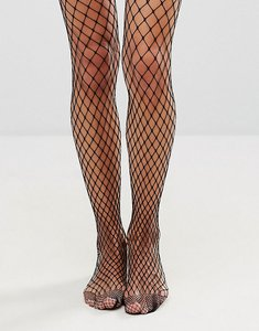 Read more about Gipsy large scale fishnet tights - black
