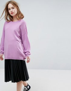 Read more about Asos jumper in oversize - lilac
