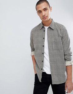 Read more about Nudie jeans co sten herringbone check shirt - velvet glen check