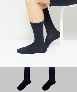 Read more about Tommy hilfiger classic 2 pack sock in navy - navy