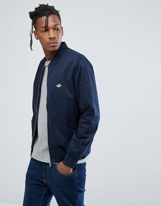 Read more about Le shark zip up bomber jacket - navy