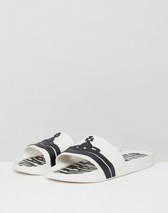 Read more about Vivienne westwood for melissa sliders in white - white