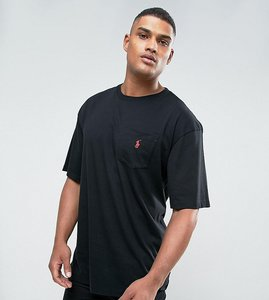 Read more about Polo ralph lauren tall crew neck t-shirt with logo in black - rl black
