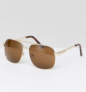 Read more about Jeepers peepers square sunglasses in gold - gold