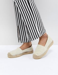 Read more about Selected suede espadrille - stone