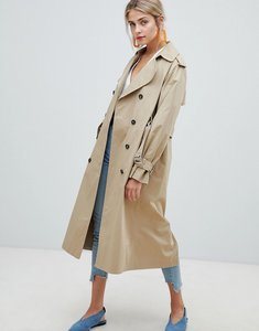 Read more about New look oversized mac trench coat - stone