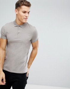 Read more about Asos muscle fit jersey polo - statue