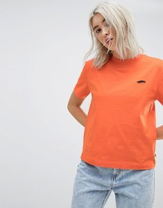 Read more about Vans boxy t-shirt in orange - orange