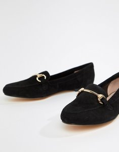 Read more about Office fastlane black suede loafers - black suede