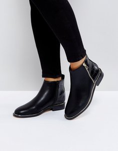 Read more about Office abbie metal trim boots - black