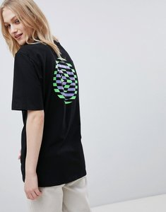 Read more about Converse cons skate boarding t-shirt in black with back print - black