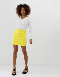 Read more about Noisy may denim mini skirt
