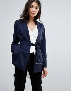 Read more about Unique21 belted jacket - navy