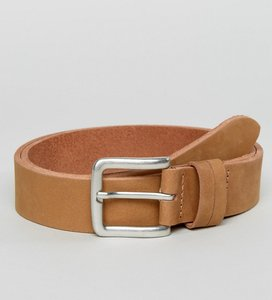 Read more about Esprit belt in leather - beige
