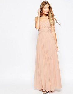 Read more about Asos design ruched panel maxi dress - mint