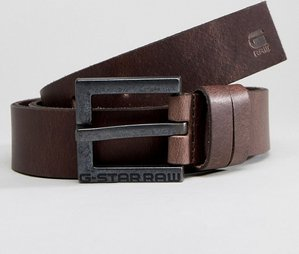 Read more about G-star duko cuba leather belt - brown
