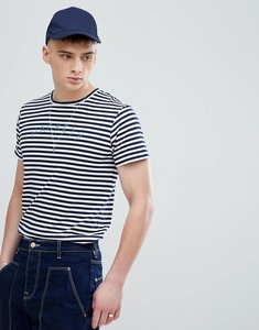 Read more about Hackett mr classic stripe t-shirt in navy - 5dj