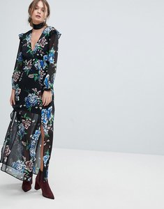 Read more about Miss selfridge printed floral dress - print