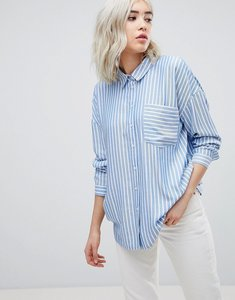 Read more about Only striped oversize shirt - multi