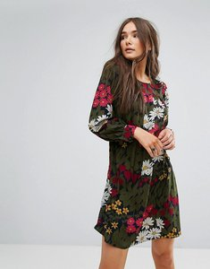 Read more about Traffic people floral swing dress - navy