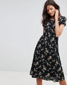 Read more about Pussycat london floral midi dress - print
