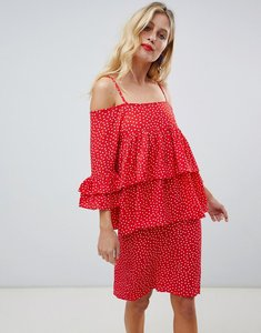 Read more about Y a s abby dress - red