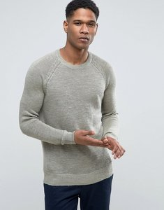 Read more about Esprit 100 linen raglan sleeve jumper - 345 green