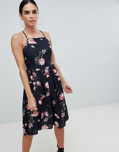 Read more about Love printed strappy dress - black floral