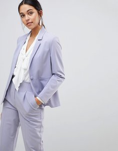 Read more about Asos the tailored blazer mix match - grey lilac
