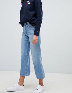 Read more about Tommy hilfiger tommy x love cropped wide leg jeans