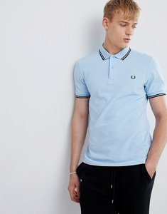 Read more about Fred perry twin tipped polo in blue - g08