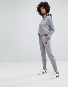 Read more about Nike rally regular fit sweat pant in grey - er dark grey black