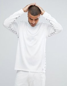 Read more about Levi s line 8 long sleeve logo t-shirt - shadow levis line 8