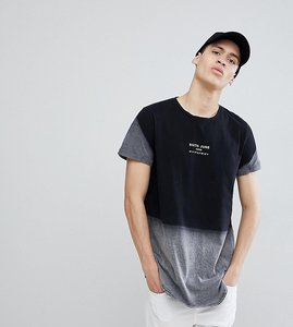 Read more about Sixth june logo t-shirt in bleach fade exclusive to asos