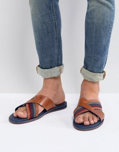Read more about Ted baker farrull sandals in brown leather - brown