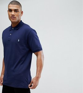 Read more about Polo ralph lauren big tall polo shirt with logo in navy - newport navy
