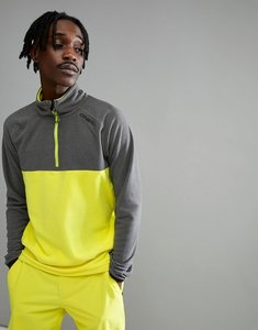 Read more about O neill ventilator half zip fleece sweat in yellow grey - poison yellow