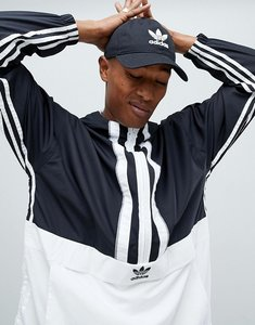 Read more about Adidas originals authentic overhead windbreaker in black dh3841 - black