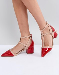 Read more about Miss kg averie heeled shoes - red