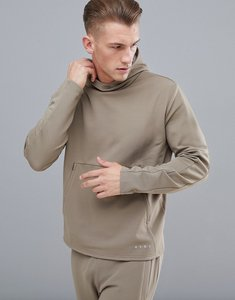 Read more about Asos 4505 sweatshirt with cut sew - beige