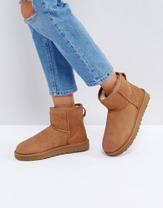 Read more about Ugg classic mini ii chestnut boots - chestnut
