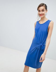Read more about Selected tie waist dress - blue