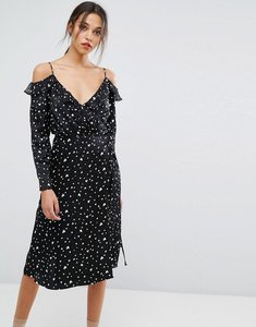Read more about Essentiel antwerp oba long sleeved dress - black