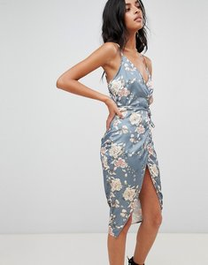 Read more about Love other things floral print wrap dress - jade