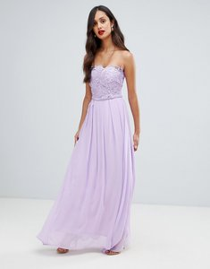 Read more about Ax paris tulle maxi dress with embellished detail