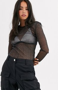 Read more about Noisy may long sleeve mesh top