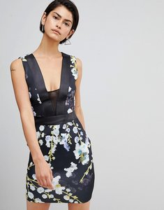 Read more about Forever unique printed dress - floral print